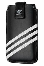 Adidas Medium Slim Thin Sleeve Pouch Cover For iPhone 5 5S SE Black / White
