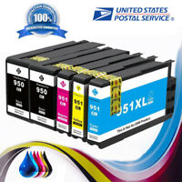 5 PK High Yield ink cartridge for HP950XL 951XL OfficeJet Pro 8100 8600 8610
