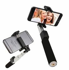 Bluetooth Selfie Stick Remote Shutter Extendable For iPhone Samsung Android
