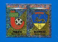 CALCIATORI PANINI 1996-97 Figurina-Sticker n. 638 -TURRIS-VITERBESE SCUDETTO-New