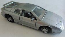 MC TOYS LOTUS ESPRIT SILVER CAR DIECAST SCALE 1/38 LOOSE