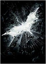 Batman Logo The Dark Knight Rises Movie Poster Art Print A0 A1 A2 A3 Maxi