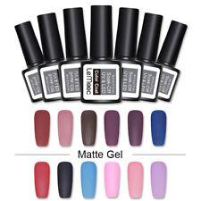 Lemooc de color MATE Esmalte Gel Uñas Coloridas Soak Off UV Gel Barniz