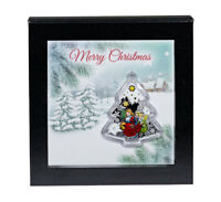 2016 Niue 1 oz. Colorized Silver Merry Christmas -Tree $2 Coin in OGP SKU45713