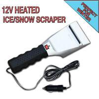 Zone Tech Car 12V Heated Car Auto Electric Windshield Ice Scraper Snow Melter