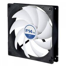 Arctic F14 TC 140 Mm 3 Pin Standard Temperature Controlled Case Fan - Black