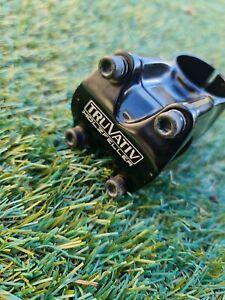 TRUVATIV HOLZFELLER MTB BMX Stem 31.8mm Clamp 50mm 1 1/2  1.5 inch Steerer VGC