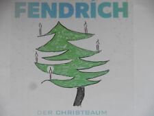 Rainhard Fendrich   Der Christbaum   Promo Maxi - CD 1 Track 2014 super rar!!