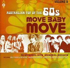 MOVE BABY MOVE 2CD NEW Johnny O'Keefe Easybeats Twilights Cherokees Zoot MPD LTD