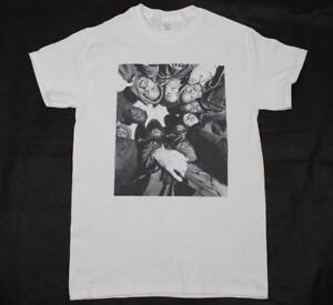 Wu-Tang Clan White T-Shirt S-3XL 90s hiphop rap odb rza raekwon 36 chambers