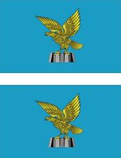 2x sticker Adesivo Adesivi macbook Vinyl auto bandiera Friuli-Venezia Giulia
