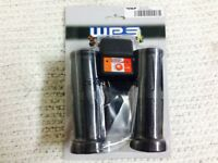 """New WPS Electric 12V Heated Rubber Grips for 7/8"""" Bars ATV / Snowmobile 40-4130"""