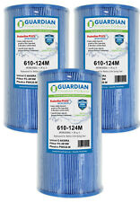 3 Pack Antimicrobial Filters Fit Unicel C-6430RA C-6430 PWK-30-M FC-3915