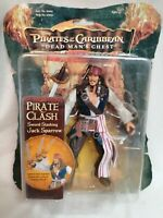 PIRATES OF THE CARIBBEAN - *Unopened* Sword Slashing Jack Sparrow Figure 2006