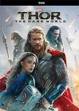 Thor The Dark World (DVD 2014) Chris Hemsworth, Tom Hiddleston, Natalie Portman