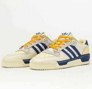 Adidas Originals Rivalry Low Premium White Victory Blue H04386 Shoes Sneakers