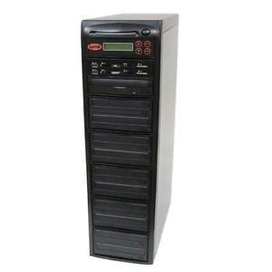 SySTOR 1-10 MultiMedia PLUS-Flash Memory Drive to Disc Backup+Blu-ray Duplicator