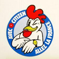 Autocollant CITIZEN - Allez la France avec Citizen   - Sticker collector