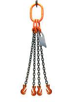 Chain Sling 516 X 5 Quad Leg With Grab Hooks Grade 100