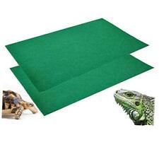 New listing 2Pcs Reptile Carpet Terrarium Bedding Substrate Liner Carpet for Lizard Turtles