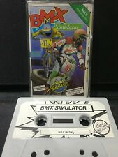 MSX Computer Game - BMX SIMULATOR  - Rare, Working.