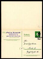 Bund Ganzsache MiNr. P 51 F Sonderstempel München (G105