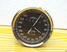 Royal Enfield Motorrad Tachometer 160 km / h Replica Smiths - Schwarz