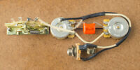 Telecaster Wiring Harness Upgrade-CTS-CRL-Brass Shafts-Orange Drop-Switchcraft