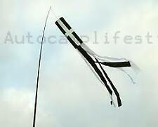 CORNWALL tube Windsock for telescopic flag pole for vw shows & festival