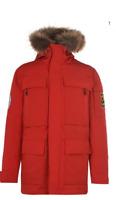 CIESSE PIUMINI Abram Parka Mens Motlen Red Size UK M *REF101