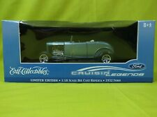 1932 FORD ROADSTER CRUISIN LEGEND 1/18 DIECAST ERTL LIMITED EDITION 1002 OF 1500