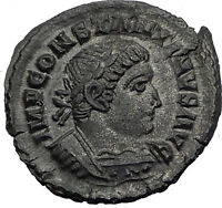 CONSTANTINE I the Great 314AD London Londinium RARE Ancient Roman Coin i64009