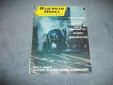 May 1968 Railroad Model Craftsman Vintage Train Magazine