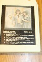 Dave & Sugar 8 track Tape Working and Tested Greatest Hits 1981 Country