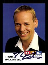Thomas Hackenberg RTL Autogrammkarte Original Signiert # BC 87996