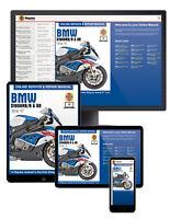 BMW S1000RR/R & XR (2010 to 2017) Haynes Online Manual