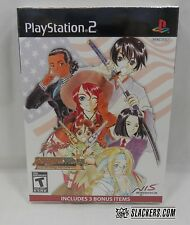 SAKURA WARS So Long, My Love DELUXE New! SEALED! (PlayStation 2) Bonus Discs RPG