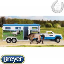 *NEW* Breyer Stablemates – Truck & Gooseneck Horse Trailer – Scale – 1:32