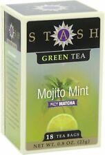 Mojito Mint Green Tea, Stash, 18 tea bag