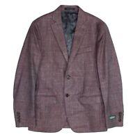 Lauren by Ralph Lauren Mens Sport Coat Red Size 36 Short Notched Wool $375 038