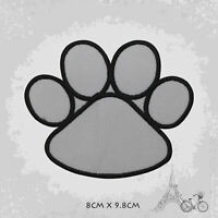 Dog Paw Disney Logo Patch Iron On Patch Sew On Embroidered Patch