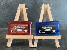 Pokemon Rubin & Saphir / Ruby & Sapphire Paket Nintendo Gameboy Advance Spiele