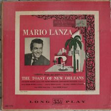 DISCO 33 GIRI - MARIO LANZA - THE TOAST OF NEW ORLEANS