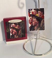 Hallmark Keepsake Growth Of A Leader Boy Scout Ornament 1996 MINT EUC