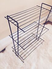 Mid Century Modern Wire 3 Tier Stand Record Side Table Mategot Style Eames Era