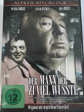 Alfred Hitchcock - Der Mann der zuviel wußte - Peter Lorre, Leslie Banks (OmU)
