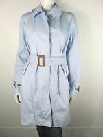 Dolce&Gabbana D&G Mantel Jacke Jacket SC0193 Trenchcoat Jas Blau Neu S 36 IT42