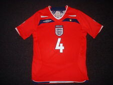 England GERRARD Shirt Medium Boys Girls Umbro Football Soccer Jersey Liverpool ~