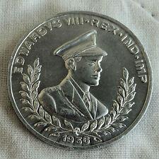 Edoardo VIII 1936 37 mm Medaglia d'adesione souvenir