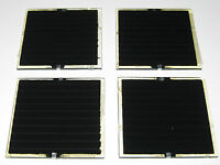 4 X CIS Solar Cells - 3.2 V DC - 60mm x 60mm - 80 mA - .25 Watt - Mini Panels